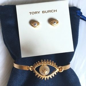 Tory burch evil eye jewelry